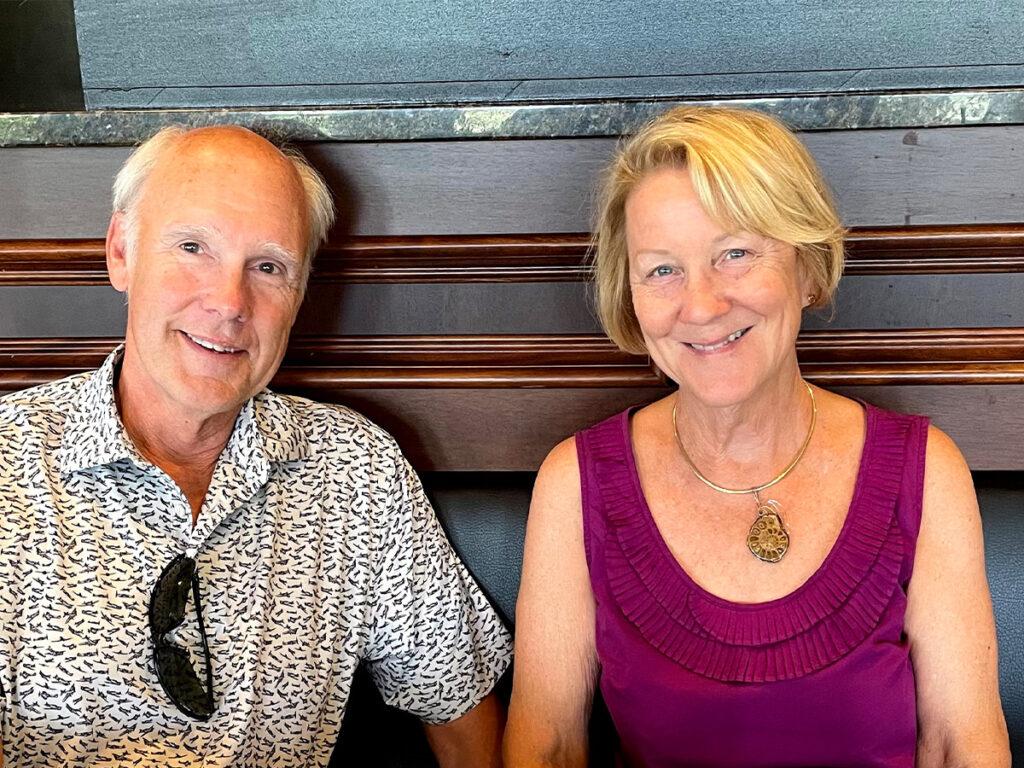 Lisa and her husband Ray