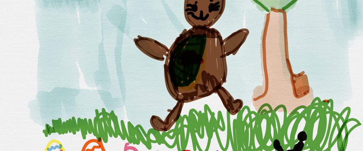 Art work by my 5 year old granddaughter Zoe.