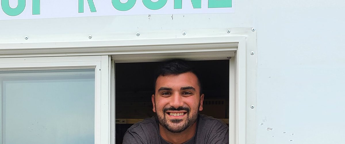 Vince Failla is the proud owner of Cup 'R Cone ice cream truck.